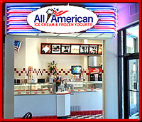 All Amercian Frozen Yogurts